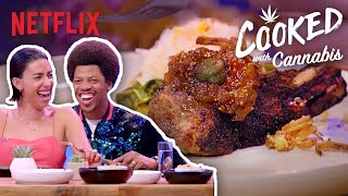 This Gourmet Food Gets You High | Best of Cooked with Cannabis | Netflix