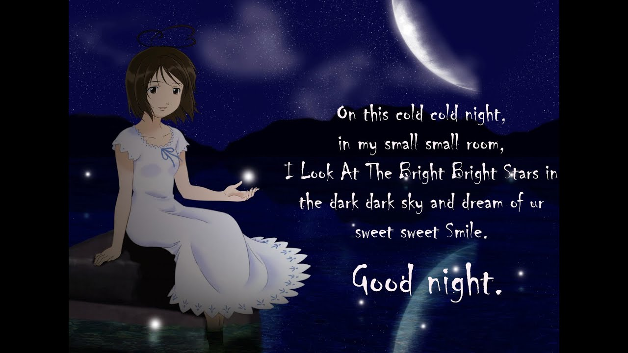 Latest Cute Good Night Wishes SMS Messages Shayari in Hindi English For Loved es Whatsapp Video