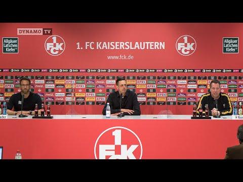 1. Spieltag | FCK - SGD | Presekonferenz nach dem Spiel