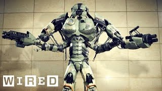 How to Design a Giant Robot Mech (2/7) - YouTube Geek Week - Wired