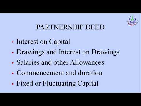 unit 8 prog 1  Partnership  I Topic ; Profit & Loss Distribution