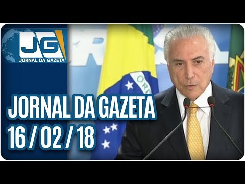Jornal da Gazeta - 16/02/2018