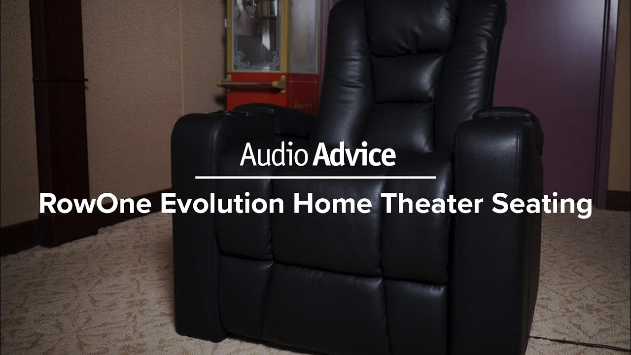 Rowone Evolution Home Theater Seating Review R08040