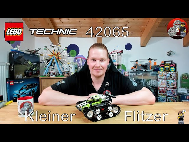 Kleiner Flitzer mit Power Functions   Lego® 42065 Review   Lego® Technic 42065 RC Tracked Racer