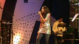 Shreya ghoshal singing dochey song from komaram puli at Hyderabad