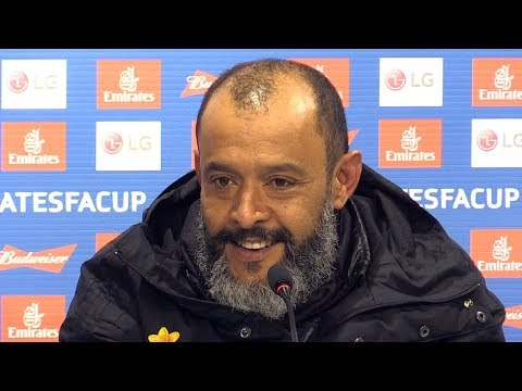 Wolves 2-1 Manchester United - Nuno Espirito Santo Full Post Match Press Conference - FA Cup