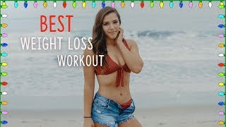 BEST WORKOUT For Weight LOSS   VLOGMAS DAY 18