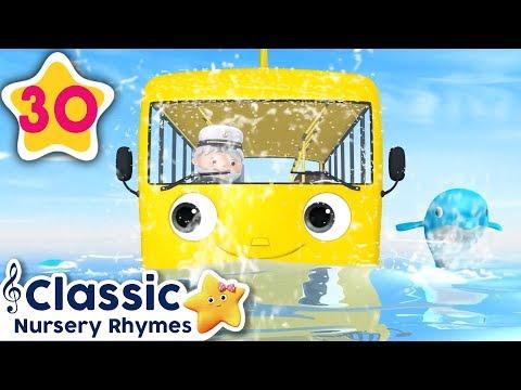 Wheels On The Bus Underwater | +More Vehicle Songs | Little Baby Bum| Nursery Rhymes
