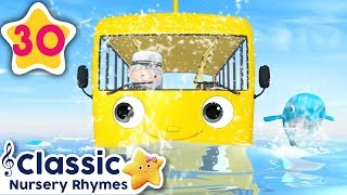 Wheels On The Bus Underwater | +More Vehicle Songs | Little Baby Bum| Nursery Rhymes