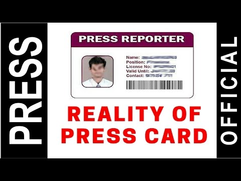 Reality of PRESS Card in Indian Media | Hindi Video