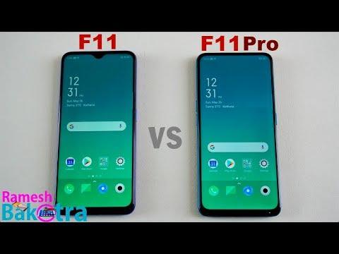 Oppo F11 vs F11 Pro SpeedTest and Camera Comparison