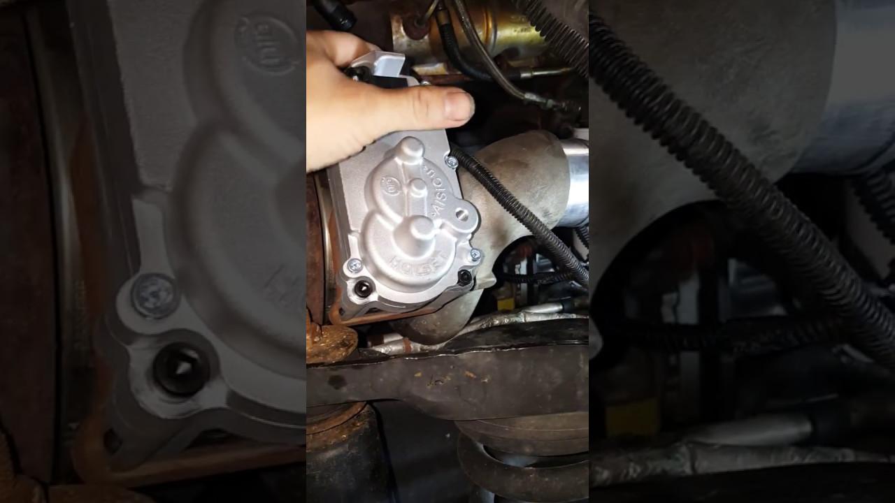 2013 Dodge Ram3500 6 7L Turbo Actuator Replacement! (step4)
