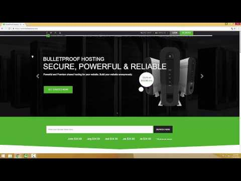 HOSTING BULLETPROOF ANONYMOUSLY 100% - YouTube