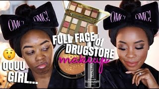 HOW TO: FULL BEAT USING ALL DRUGSTORE MAKEUP | Andrea Renee