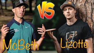 Lizotte vs McBeth (THE ULTIMATE 9 HOLE CHALLENGE!!)