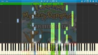 PMD: Explorers of the Sky - Memories Returned Piano Arrangement (Piano Arrangement) (Synthesia)