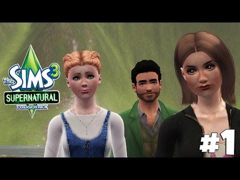 Eine Hexe, eine Fee & ein Werwolf - Let's Play Die Sims 3 Supernatural Part 1