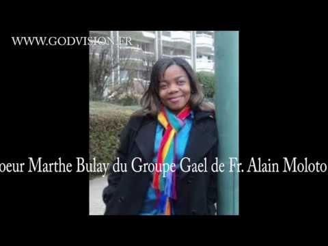Décé de la sœur Marthe Bulay du groupe Gaël de fr. Alain Moloto (Adorons l' Éternel)
