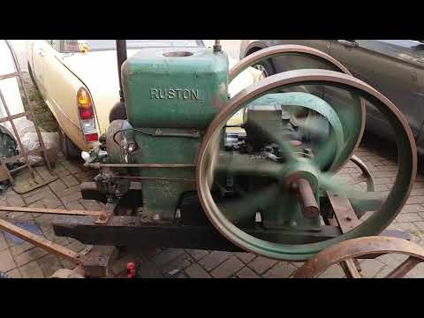 Ruston Hornsby CPR 6 1/2HP Stationary Engine.