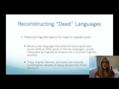 HIstorical Linguistics and Language Change