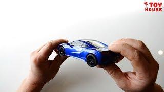 Игрушки машинки. Моделька машины Acura NSX с сенсорным стеклом. Дотронься до стекла и она поедет.