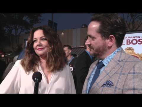 The Boss: Melissa McCarthy & Ben Falcone Red Carpet Movie Premiere