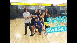 Swag Se Swagat | Tiger Zinda Hai | Dance Video | Choreography by Santosh Nag | LIVE TO DANCE-L2D