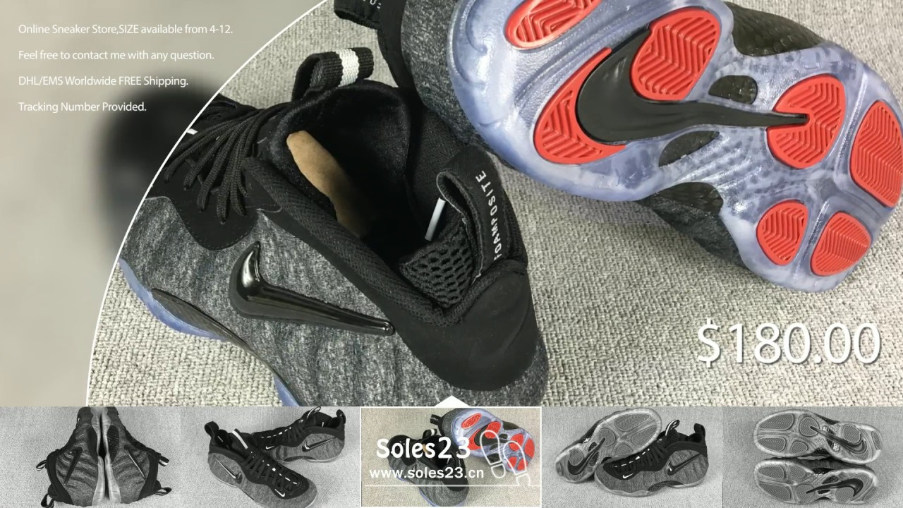fd40f5f2d7f soles23.cn)  200 Nike Air Foamposite Pro Wool Dark Grey - YouTube