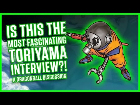 IS THIS THE MOST FASCINATING TORIYAMA INTERVIEW? | A Dragonball Discussion