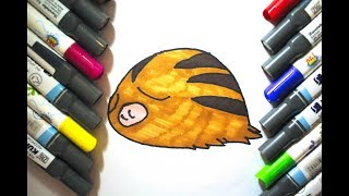 How To Draw And Color I Learn Coloring and Drawing I Pokemon Swinub