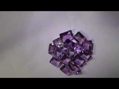 TOP QUALITY FINEST NATURAL AFRICAN SPARKLING AMETHYST GEMS LOT