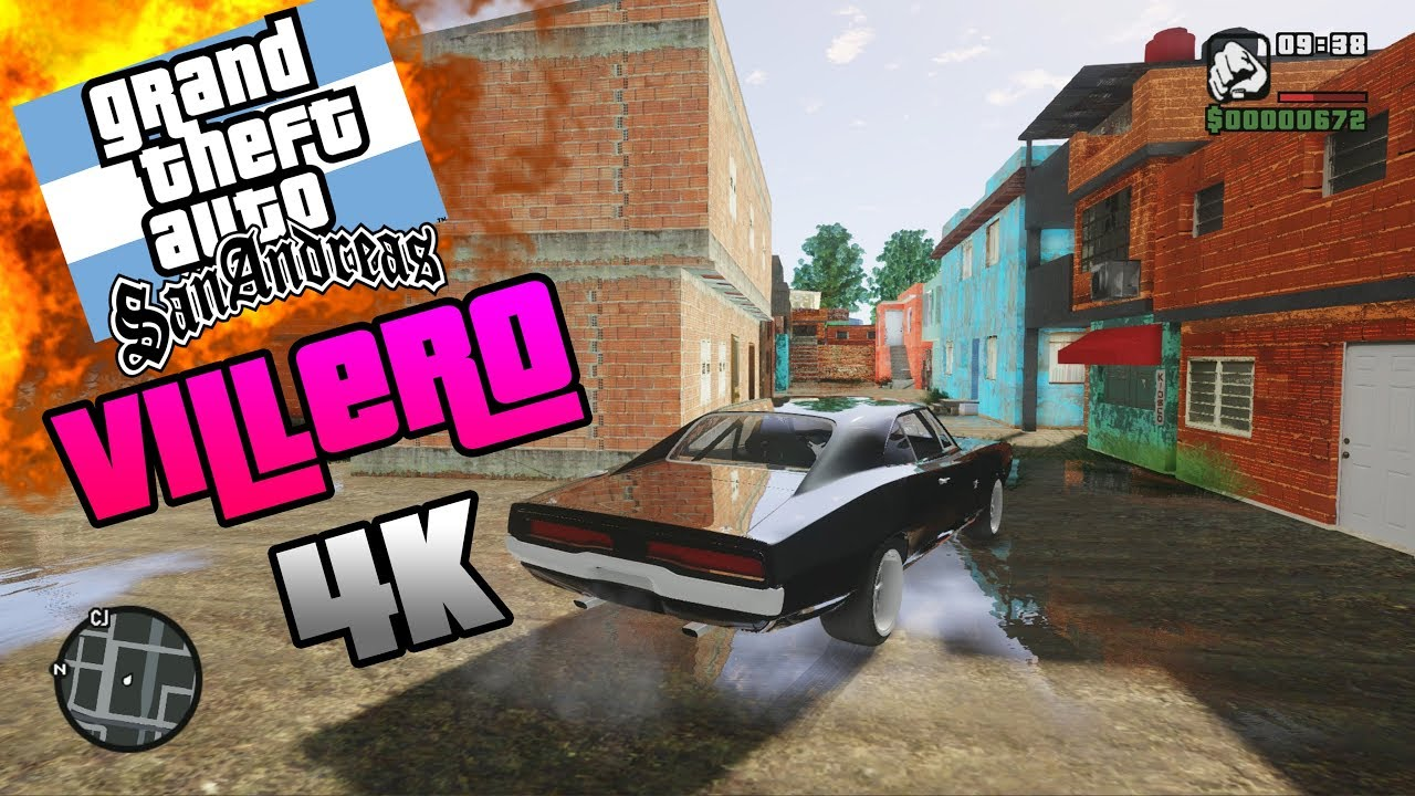 Gta San Andreas Villero Gato New Graphics Mod 4k 2019