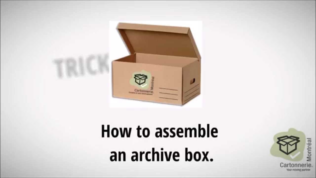 How to assemble a box 53