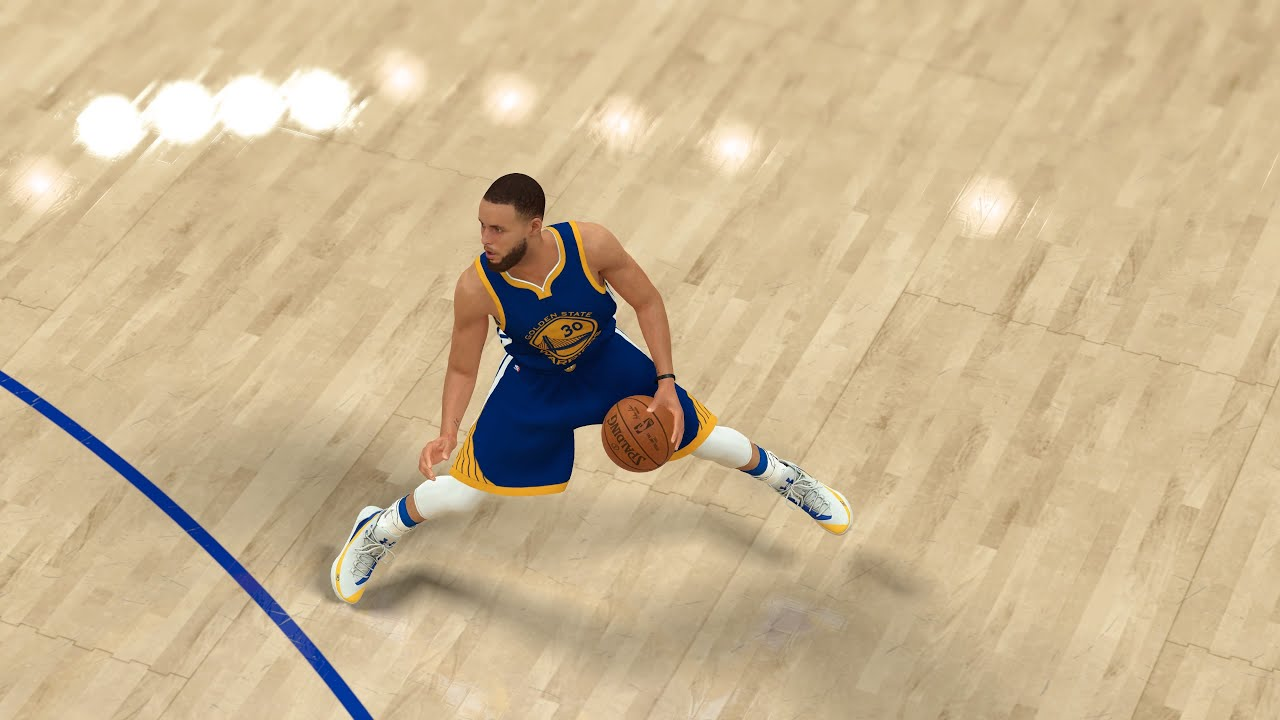 Stepback: Harden vs. Curry (2K vs. NBA Live) Videosu