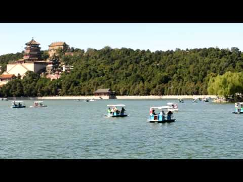 Inside the beautiful Summer Palace belongs to the Last Emperor of China