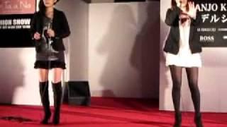 福岡の大丸パサージュ広場で開催されたイベントで 新しく組まれた二人組...