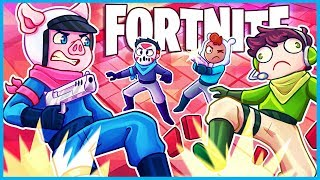 *NEW* SPLEEF MINI GAME in Fortnite CREATIVE Mode! (Fortnite Funny Moments & Fails)