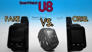 U8 - FAKE VS. ORIGINAL ► test smartwacth│Aliexpress česky│Unboxing - rozbalovačka│TEST│