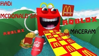 ROBLOX /TRACK I COULDN'T GET ENOUGH TO FALL BUT I GOT TO MCDONALD'SI 🍔🍟🍿