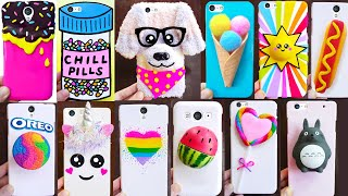 DIY PHONE CASES | Easy & Cute Phone Projects & iPhone Hacks
