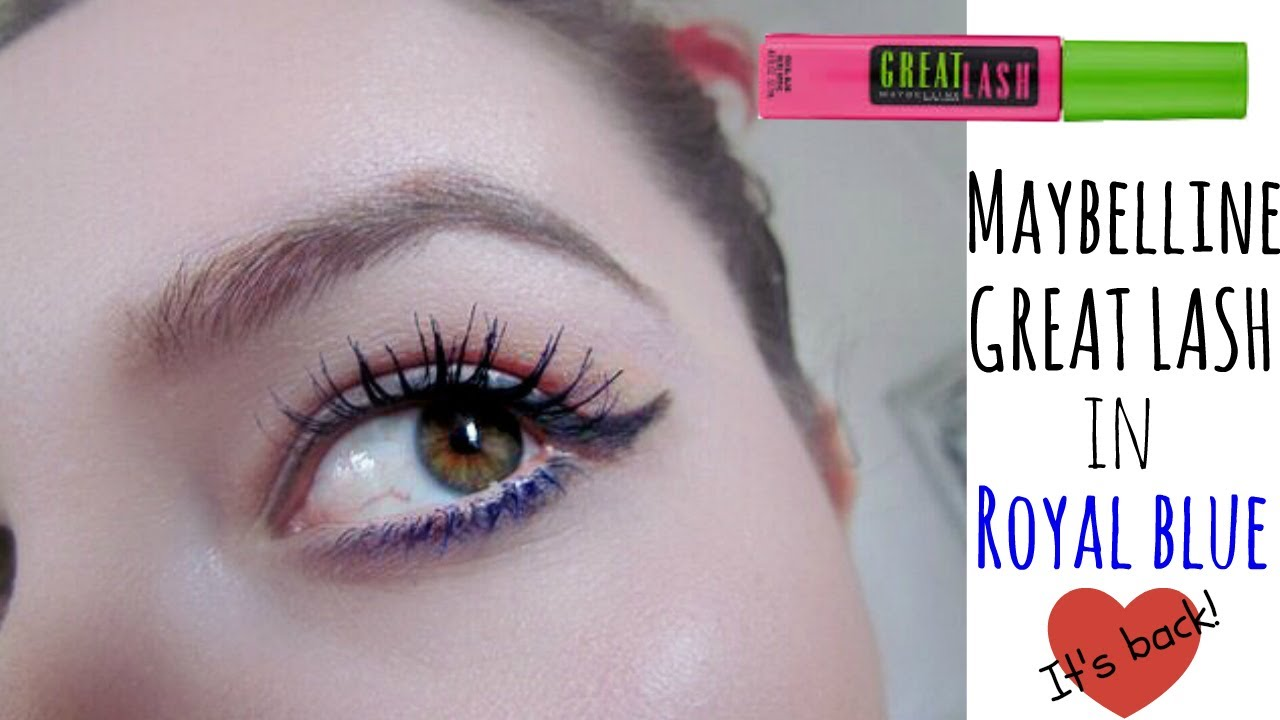 bcdf3d4abdd Maybelline Great Lash Royal Blue Review | Influenster VoxBox | May 2017