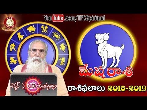 Mesha Rasi || Aries || 2018 - 2019 Rasi Phalaalu by Dr. C.V.B. Subrahmanyam || TFC Media Spiritual