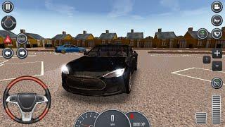 Driving School 2016: Tesla Model S screenshot 4