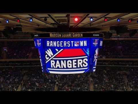 New York Rangers 2017-2018 Intro (vs. Detroit Red Wings)