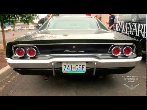 Green Charger graveyard carz - YouTube