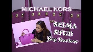 Michael Kors Fuchsia Selma Stud Bag Review