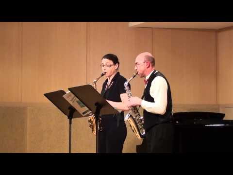 Duo de saxophone de Paris - Costumes 3 pieces de Gilles Martin