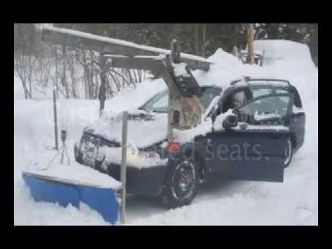 Homemade snowplow