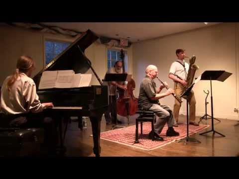 """On Beauty"" Charles Evans (baritone saxophone) with David Liebman"