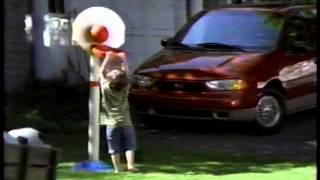 Big Bird appears in a Ford commercial for the Windstar Van